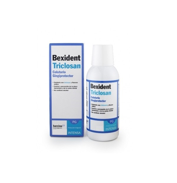BEXIDENT ENCIAS COLUTORIO TRICLOSAN 500ML