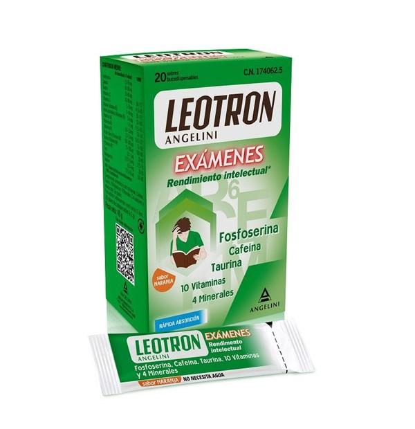 Leotron Examenes Angelini Bucodispersables  20 Sobres