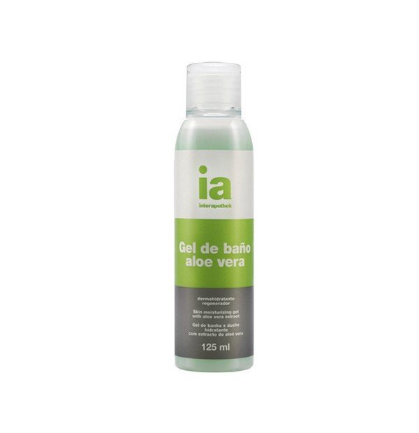 INTERAPOTHEK GEL BAÑO ALOE VERA 125 ML