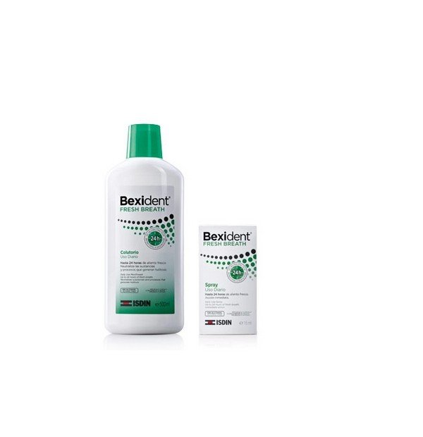 BEXIDENT PACK FRESH BREATH COLUTORIO + SPRAY