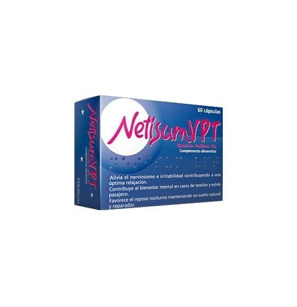 NETISUMVPT 60 CAPSULAS