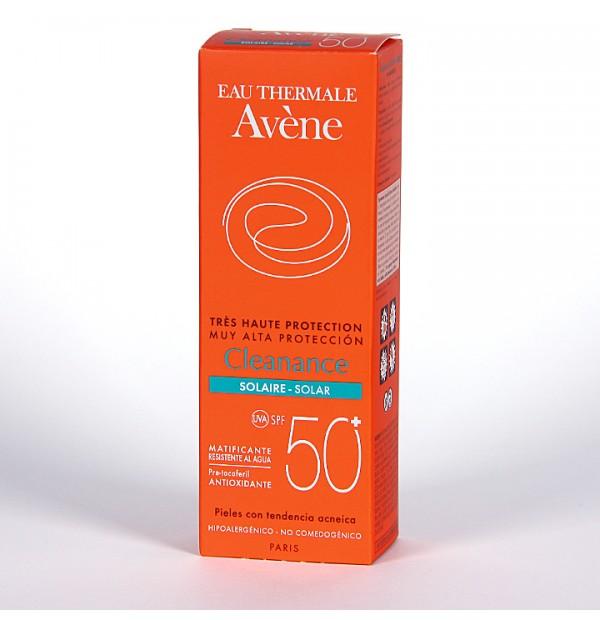 AVENE CLEANANCE SOLAR SPF 50+ MUY ALTA PROTEC  50 ML
