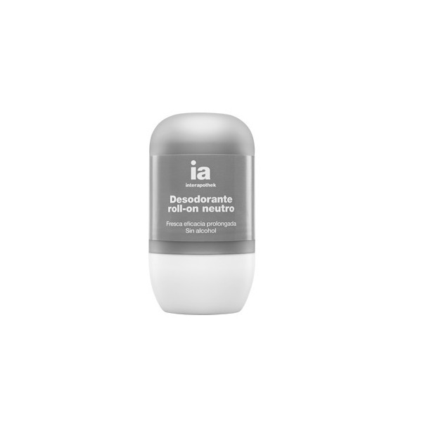 INTERAPOTHEK DEO DESODORANTE NEUTRO SIN ALCOHOL  ROLL-ON 50 ML