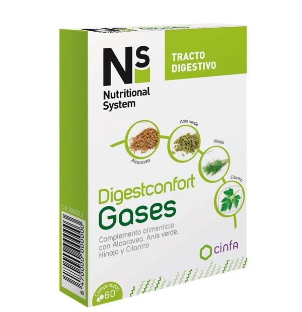 NS DIGESTCONFORT GASES  60 COMP