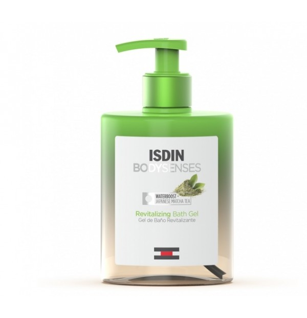 ISDIN BODYSENSES GEL DE BAÑO REVITALIZANTE TE MATCHA  500 ML