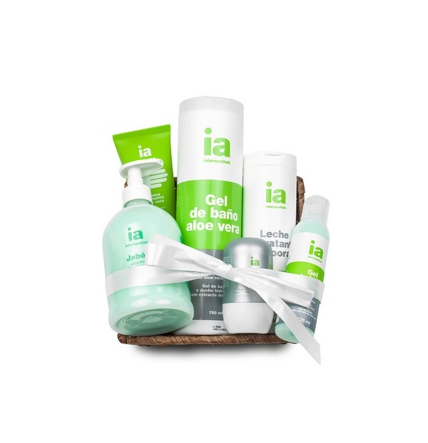 INTERAPOTHEK CESTA BODY REGALO  ALOE VERA