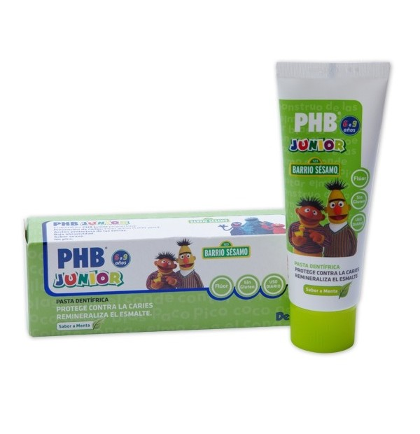 PHB PASTA JUNIOR MENTA 75 ML.
