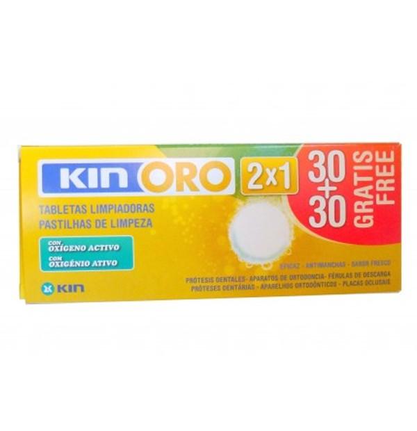 KIN ORO TABLETAS LIMP PACK 2X1
