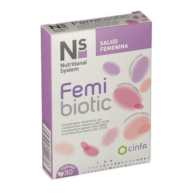 NS FEMIBIOTIC  30 CAPSULAS