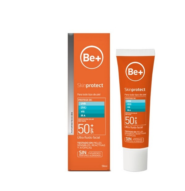 BE+ SKIN PROTECT ULTRAFLUIDO FACIAL SPF50+  50 ML DUPLO (2º 50% DTO)