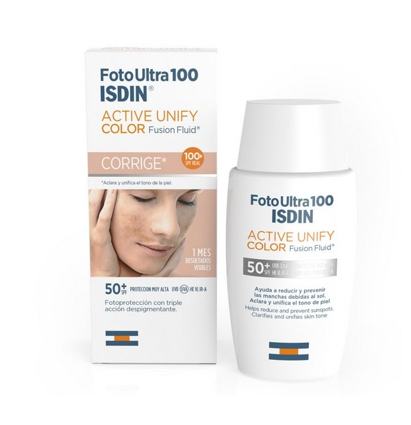 Fotoultra Isdin Active Unify Fusion Fluid Color 100+ Ff 50 Ml