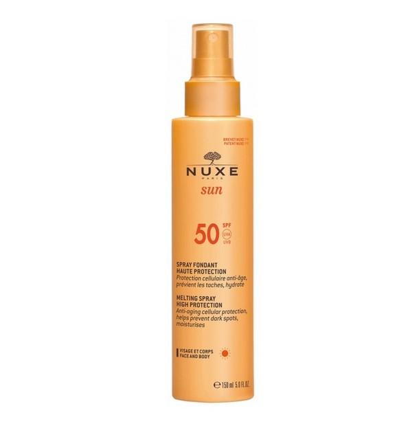 Nux Spray Fundente Alta Proteccion Corporal Spf 50 150ml